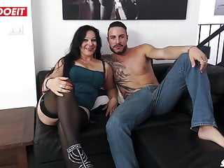 Seduced cougar pussy - Letsdoeit - hot italian cougar seduces younger stud
