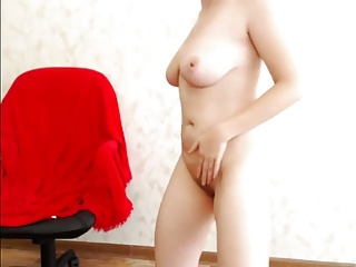 Long haired big tit old granny Super sexy long haired hairplay, striptease and masturbating