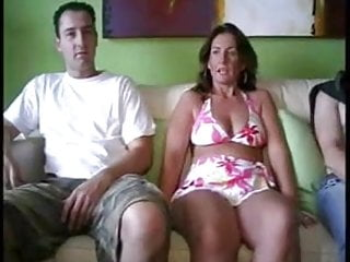 Tiffany holliday nude Three guys have fun with milf at holliday swinger