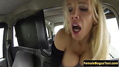 UK taxi babe doggystyled by her passenger