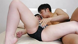 Japanese gals Tomoe Yukimura and Miina Matui uncensored