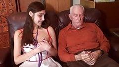 Sexy Nurse fucks old man