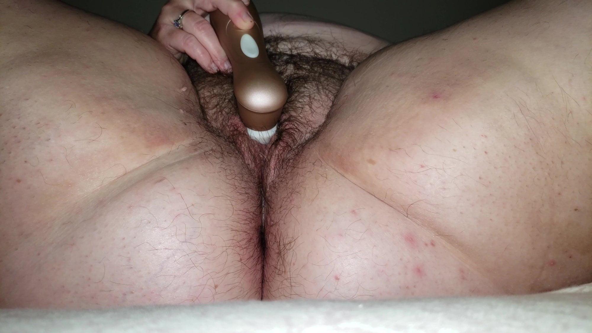 Chubby Hairy Mature Anal