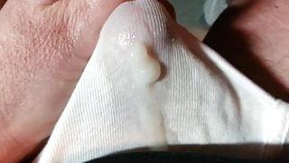 cumming through underwear