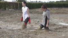 Dirty thigh boots Jade & Tayla