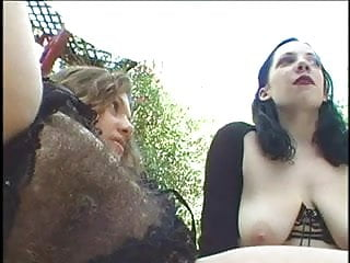 Kathryns pussy Kathryn marie fucks a hairy chick with a strapon