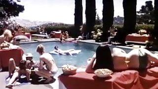 Samantha Morgan, Serena, Elaine Wells in vintage sex video