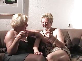 Mature ladies restrained 2 mature ladies enjoy time together