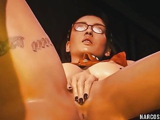 3d amanda sex game Horny busty 3d game heroes enjoy blowjob and sex