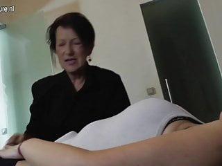 Naughty lesbian sluts Hot daughter seduced by naughty lesbian granny