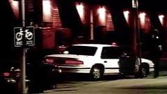 Ts prostytutka aresztowana przez policję, przestępstwo płaci w Ameryce