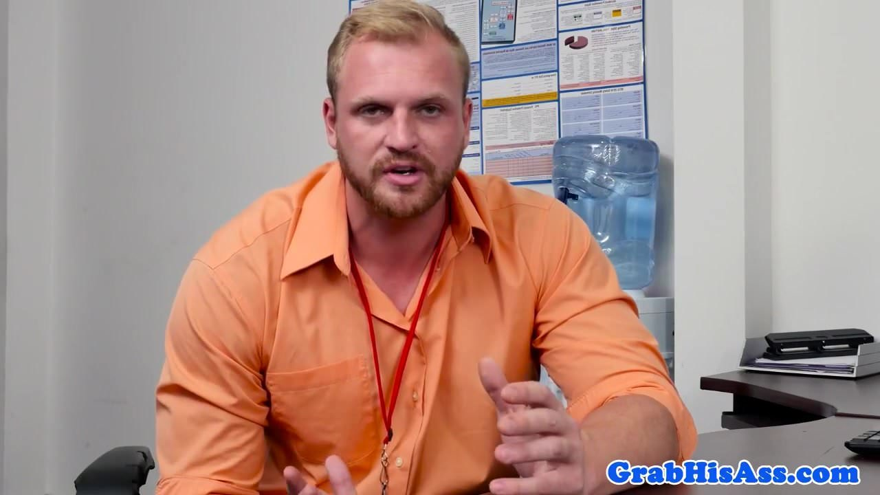 Office Jock Gay Office Porn ginger office stud ass plowedhunky boss