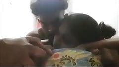 Indian boy girl enjoy