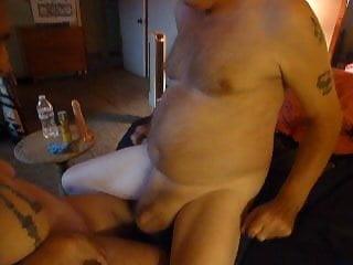 Lick my husbands ass Dildo banging finger fucking my husbands ass sucking