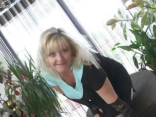 Nude breasts and vagina Big breasted blonde mom with hungry vagina