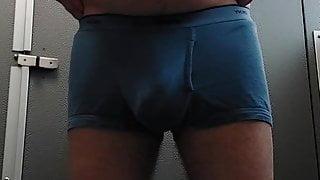 Luis Trep undressing