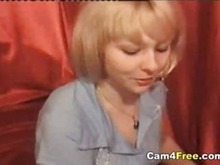 Hot horny naked woman - Hot blonde naked and horny on webcam