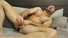 Full Show: Hot Straight Daddy Eats His Creamy Load
