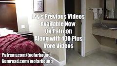 VORE - New Ivy Video Self Bondage