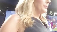 A news anchors perfect view