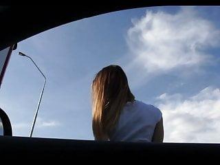 Roadside fuck for ticket - Porn music video - roadside fuck