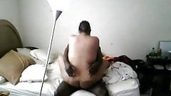 chubby girl get her black cock