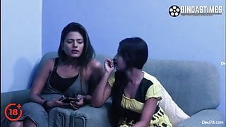 Desi sex, Indian stepbrother and sister have threesome fuck
