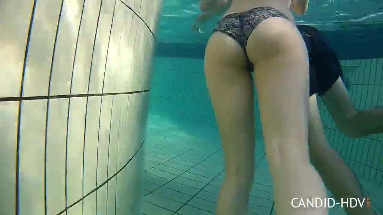 Candid Underwater Bikini Teens