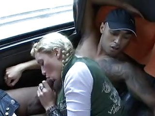 Glass bottom boat tour - Brazilian orgy gangbang in a tour bus and then public