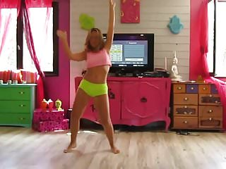 Dancing sexy videos home Two girls dance at home