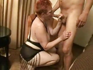 Grandma dick tits Redhead grandma craves dick