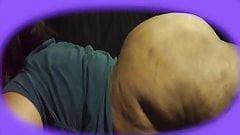Mature BBW Redbone Big Butt Anal Play