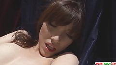 Strong toy sex along insolent model  Kanako Iioka