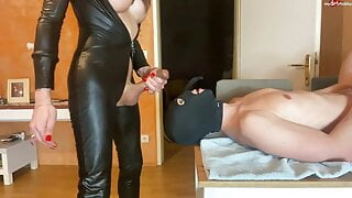 TSXXL-ANGEL23X6 My 2 hole mare gets it