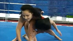 Naked women wrestling, the most beautiful sport ever