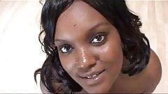 Ebony BBW Gangbang