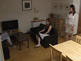 Asian hard small tit Asian milf gets fucked hard while her friend tapes it