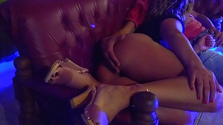 Blowjob for stepdaddy after party