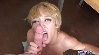 MILF Trip - This MILF is a true cock slut
