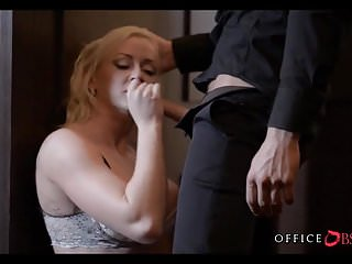 Pretty blonde busty babes tube Blonde milf at the office
