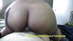 amazing orgasm MEXICANBBWSINACTION ANDREA LUNA taboo