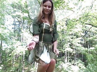 Adult erotic fairy in mermaid pond tale Fairy in the woods