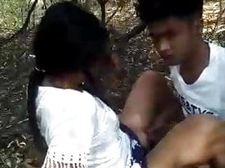 Fragrant asian woods Public sexy girle fucked in the woods