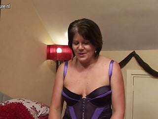 Chubby ladies in nylons Sexy chubby british lady gets her pussy wet