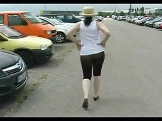 Public pantyhose amateur pics - Public