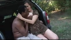 Dogging interracial