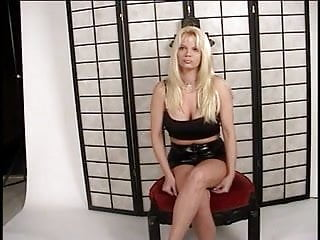 Sexy hotties with tattos - Sexy tattoed blonde whore riding pecker