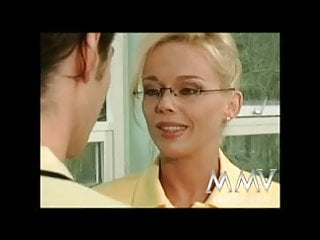During film in love penetration scene Mmv films kelly trump loves a dp and a facial