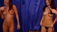 Jess and Akira ride the sybian on Stern