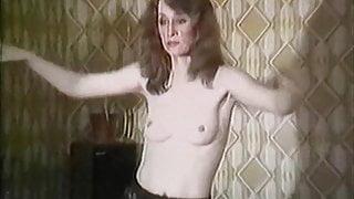 Crazy 80's dancing milf
